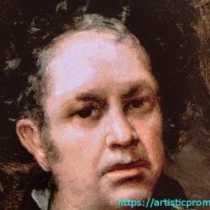 69歳ころの自画像!ゴヤ、フランシスコ・デ作「自画像」|国立西洋美術館「スペイン王室コレクションの美と栄光 プラド美術館展」より