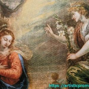 明日はクリスマス・イヴ!リシ、フランシスコ作「受胎告知」|国立西洋美術館「スペイン王室コレクションの美と栄光 プラド美術館展」より