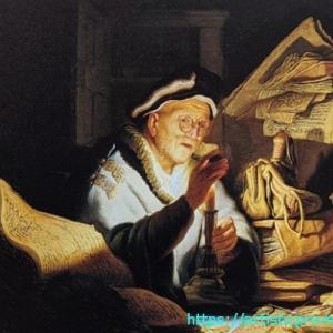 レンブラント・ファン・レイン作「愚かな金持ちの譬え」でスクルージを連想?|国立西洋美術館「レンブラントとレンブラント派-聖書、神話、物語」展より
