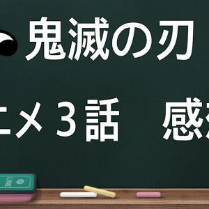 【鬼滅の刃】アニメ3話を見ての感想を包み隠さず暴露してみた