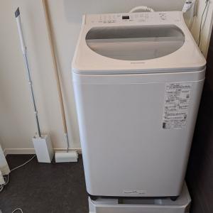 【買い物】洗濯機 Panasonic NA-FA80H8-Wの感想