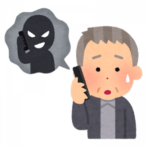 注意喚起!【高齢者を狙う、光回線からアナログ回線に戻す詐欺事案発生!】