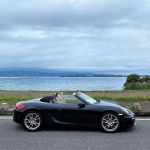 週末自動車日誌・7月琵琶湖不定期観測