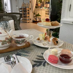 vol168 CHAN & YUPA Tearoom・豪華な一軒家カフェでアフタヌーンティ@ナナ