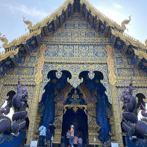 vol184 ワット・ロンスアテン チェンライの華麗な青い寺