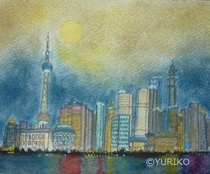 Full Moon Night in Shanghai