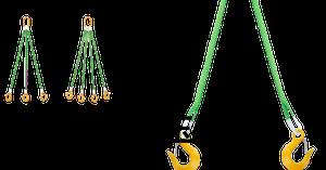 スリング、玉掛け用吊り具 🇫🇷Élingue 🇬🇧Sling