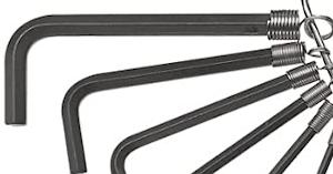 六角レンチ🇫🇷clé mâle( coudée six pans) 🇬🇧Allen wrench