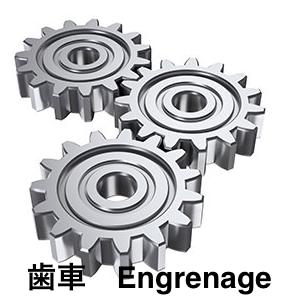 歯車(装置)/(ギヤ) 🇫🇷engrenage   🇬🇧gear(gearing)