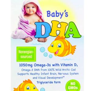 赤ちゃんの脳の発育にDHAサプリがおすすめ!ミルクや離乳食に混ぜるだけのCalifornia Gold NutritionのベビーズDHAの使い方をご紹介!