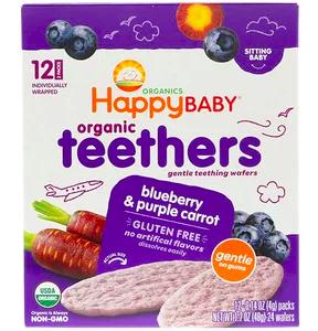 iHerbで買える赤ちゃんおやつ!HappyFamilyOrganicsのティーザー(せんべい)を写真付きでご紹介