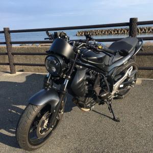 波津海岸 バイクのある風景08