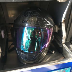 ヘルメットシャワーシステムを使ってみた!!