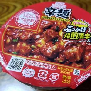 辛麺・カップヌードル