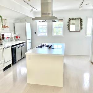 キッチンの床をリフォーム!…するはずが、、、