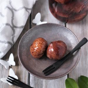 【栗の渋皮煮レシピ、お配りしてます✨】