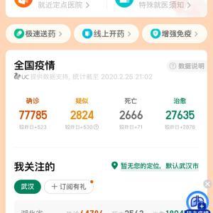 【コロナウィルス】感染者、中国発表とWHO発表を比べてみた。