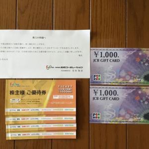 <総合利回り7.6%>5万円以下で買える銘柄より優待