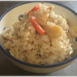宇和島産絶品あこや貝の貝柱を使った炊きめしを作ってみました!