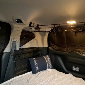 車中泊用の窓につけるシェードについて♪