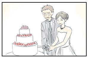 11月22日「結婚式」