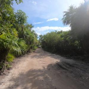 無人カリブ海でビーチキャンプ