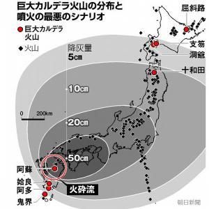 Attention 2 「巨大噴火を予知」そのとき、原発をどうするか?核燃料棒の取り出しは、とても間に合わない