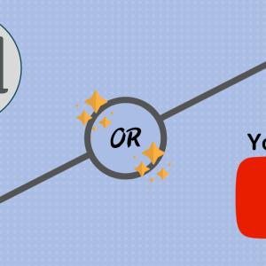 【迷ってる方必見】ブログかYouTubeどっちを始める?稼げるのは?