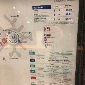 【市バス→バス】サンフランシスコ空港から市内、そしてサクラメントまで安く行く方法