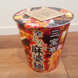 日清食品『三宝亭 全とろ麻婆麺』を食べてみた!
