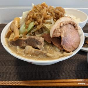 《menjoy》麺や 齋とう「超濃厚スープで味わう夏二郎」 -大阪 上新庄-