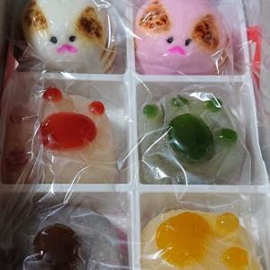 かわいい奈良のとらやさんのお菓子です。