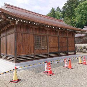 久しぶりに、佐太神社に伺いました