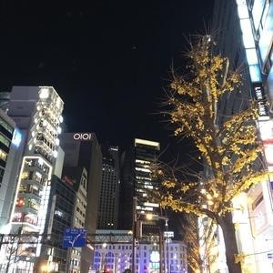 昨夜の大阪市内の様子・・・