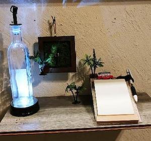 【🔧DIY】100均「壁掛け手作りミニ時計」(セリア)