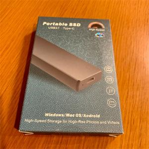 KEXIN ポータブルSSD 250GB・半年使ってみてのレビューです