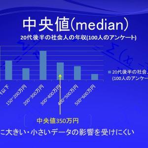 中央値(median)
