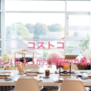 コストコ新商品ピリ辛ぶっかけ韓国のりを購入 レビュー紹介します!