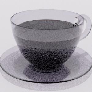 【Blender2.8】コーヒーカップを作る Level3 Part4  液体のリアルな表現など