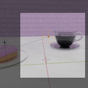 【Blender2.8】ドーナツ&コーヒーカップを作る Level4 Part4  キーフレームアニメーションなど