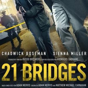 映画「21Bridgesブリッジ」 ネタバレ感想・解説 クライムサスペンスの現代版