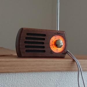 Amazonで木目調のレトロなラジオをゲッツ。