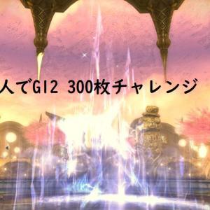 FF14 宝の地図(G12) 2人で300枚チャレンジした結果