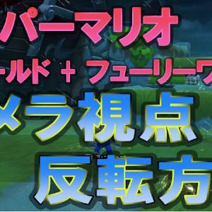 Switch スーパーマリオ 3Dワールド + フューリーワールド カメラ視点 反転方法