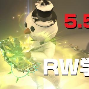 FF14 5.55 ブレイズウィズダム  レジスタンス・ウェポン 学者