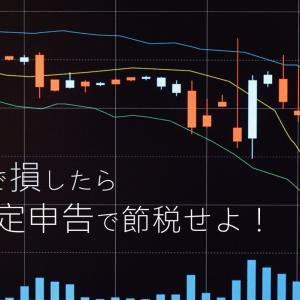 株で損したら確定申告するメリット2選【節税】