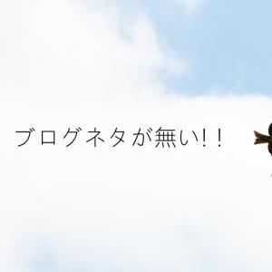 【悲報】ブログネタが無い【読む価値も無い】