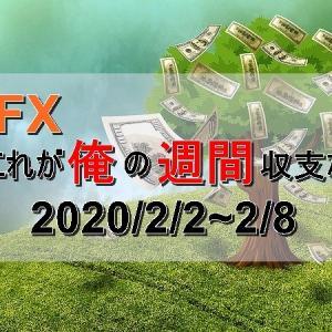 【FX週間収支】2020/2/2~2/8
