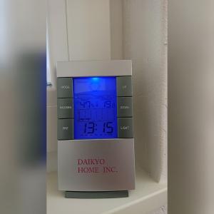 最強の断熱の大共ホームの無暖房の室温