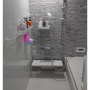 妻ともめた鏡も棚もない浴槽。実際に使ってみた感想→掃除が本当に楽。